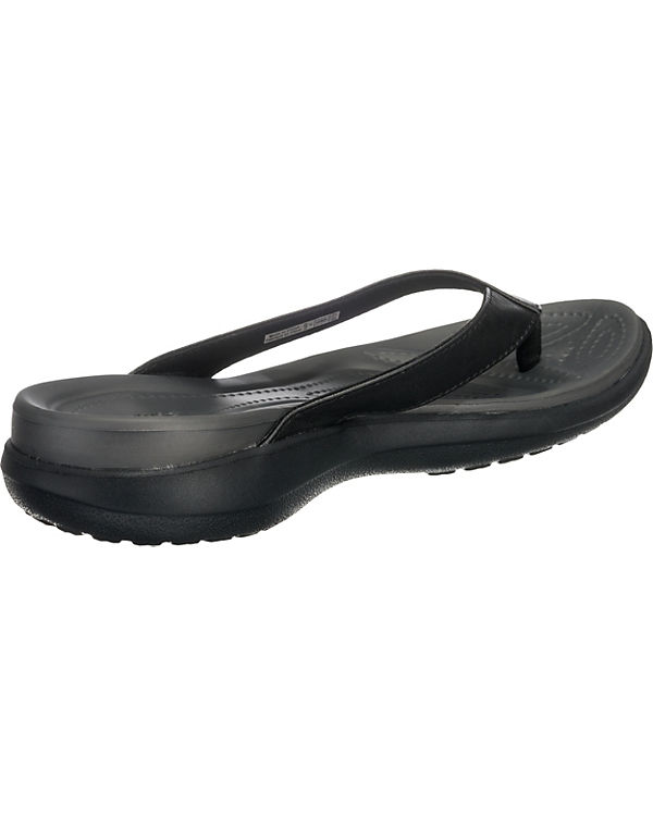 Zehentrenner Flip schwarz Capri V W crocs xqwvEFfI7
