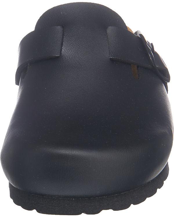 LICO Bioline Clog Pantoletten schwarz