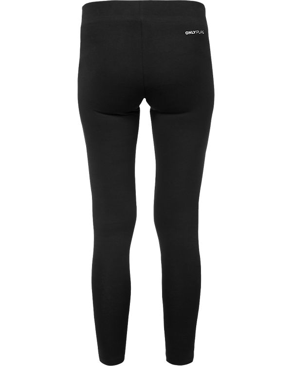 Only Play Sport Leggings schwarz