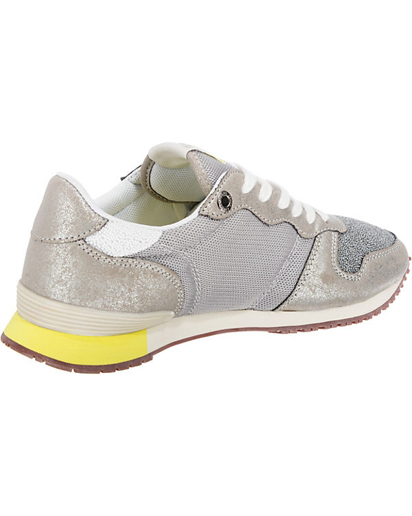 kombi Jeans Sneakers silber Pepe CAVIAR Low GABLE xY4wqnSdC