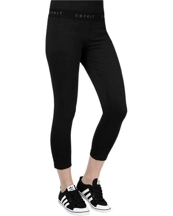 ESPRIT Sports Capri Tights schwarz