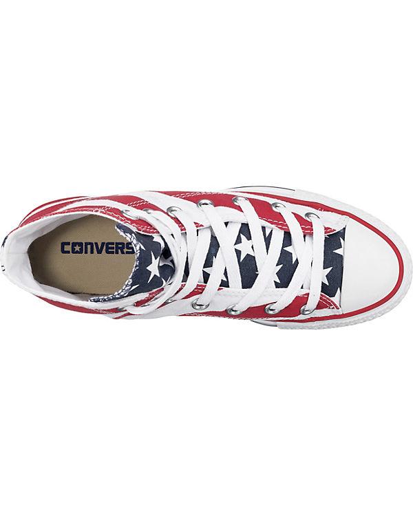 CONVERSE CONVERSE Chuck Taylor All Star Stars & Bars Sneakers weiß-kombi