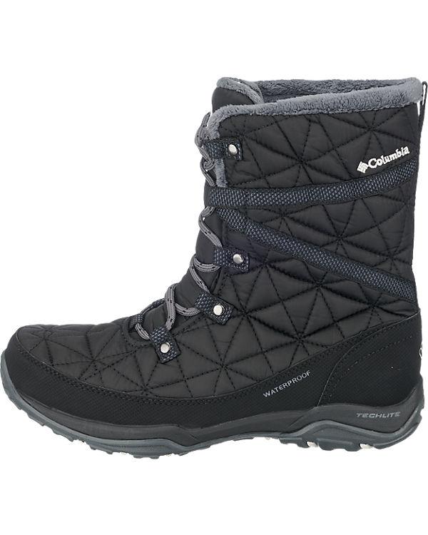 wasserdicht Heat Outdoor Loveland Stiefel Omni Mid Columbia Columbia schwarz 1vqRwP