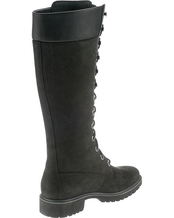 schwarz EK 14in Premium Woms Schnürstiefel Timberland XwfUq1B8x