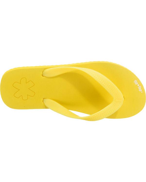 flip flop flip flop Pantoletten gelb