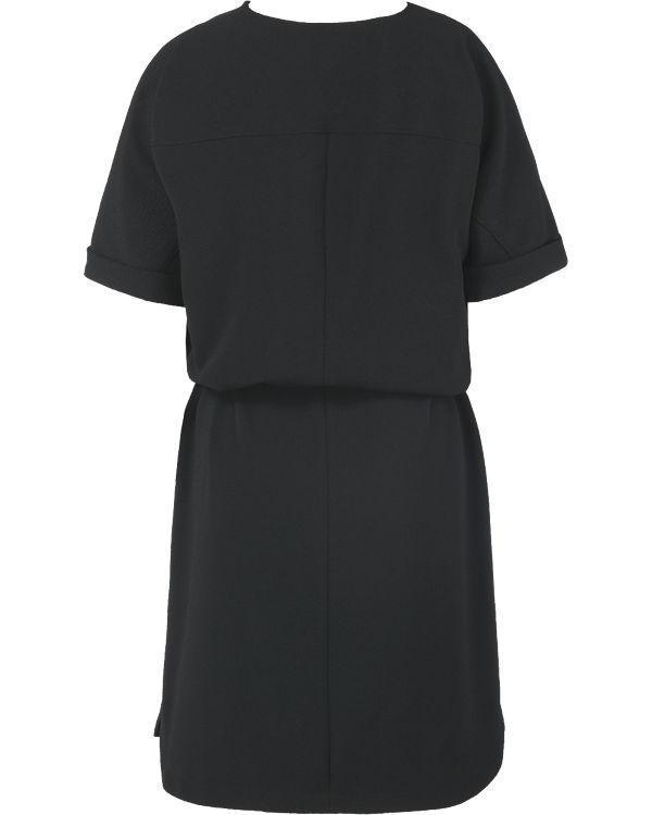 schwarz Kleid BLACK s s LABEL Oliver BLACK Oliver FY0qwSS