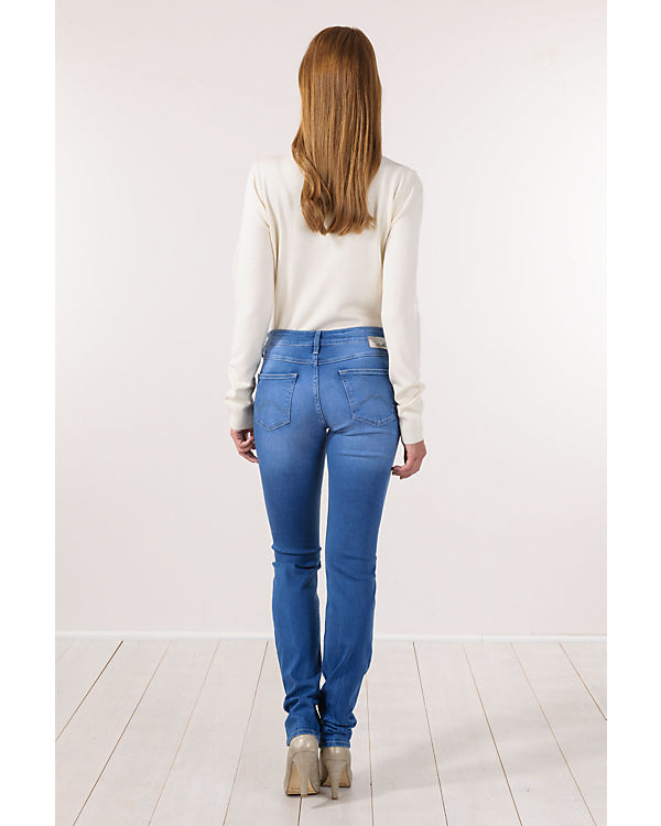 MUSTANG Slim Jeans Fit denim blue wTRYqgTn
