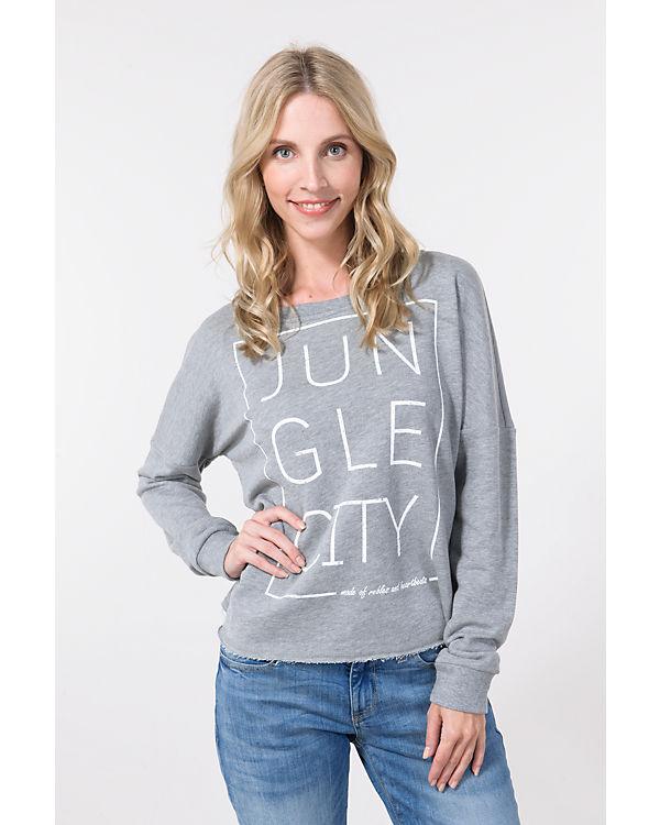 VERO MODA VERO Sweatshirt MODA Sweatshirt hellgrau VERO hellgrau qx5X6Rn