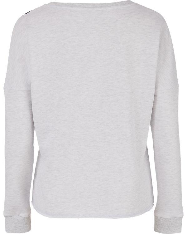 VERO MODA Sweatshirt schwarz/weiß