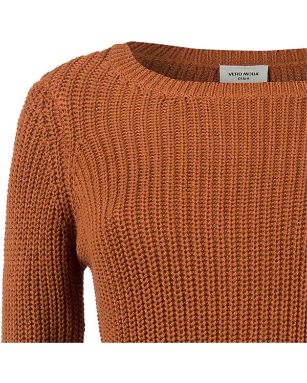VERO MODA Pullover orange
