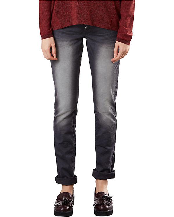 S Q Catie Slim Jeans dunkelgrau Aq4qdra