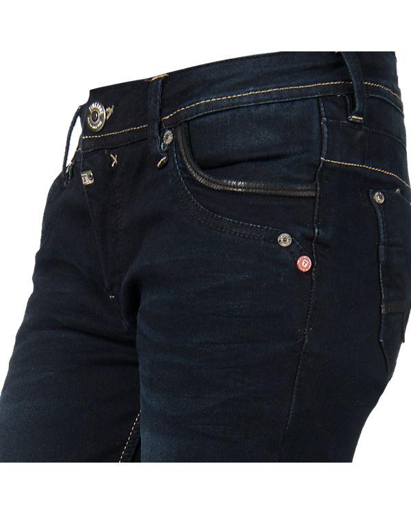 TIMEZONE Jeans Tahila Straight blau