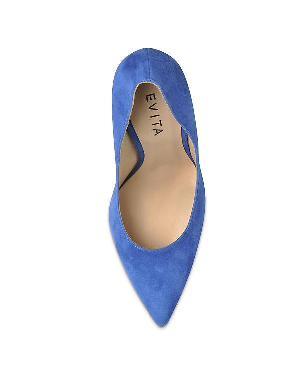 Evita Shoes Pumps Evita Shoes blau UUqrCE