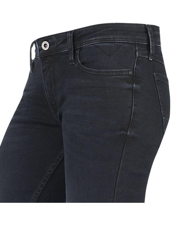 HILFIGER DENIM Jeans Bootcut dunkelblau