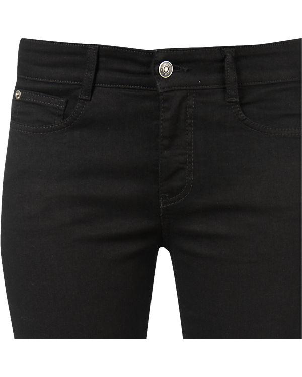 Neuester Günstiger Preis Nicekicks Verkauf Online MAC Jeans Angela Slim Fit schwarz Online Wie Vielen Verkauf Qn3fu