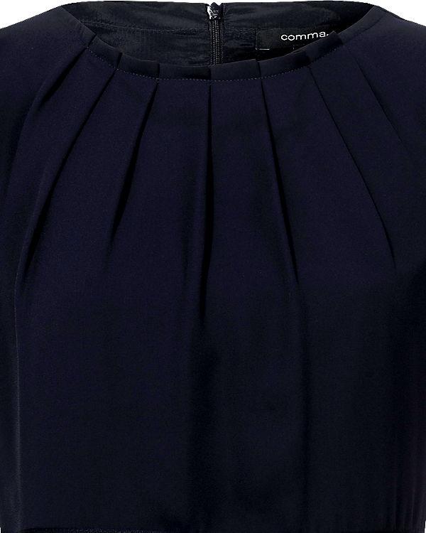 comma Etuikleid blau