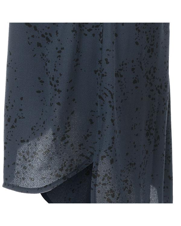 ICHI 3/4-Arm-Kleid dunkelblau