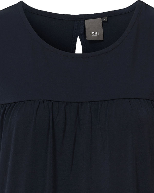 ICHI Kleid dunkelblau