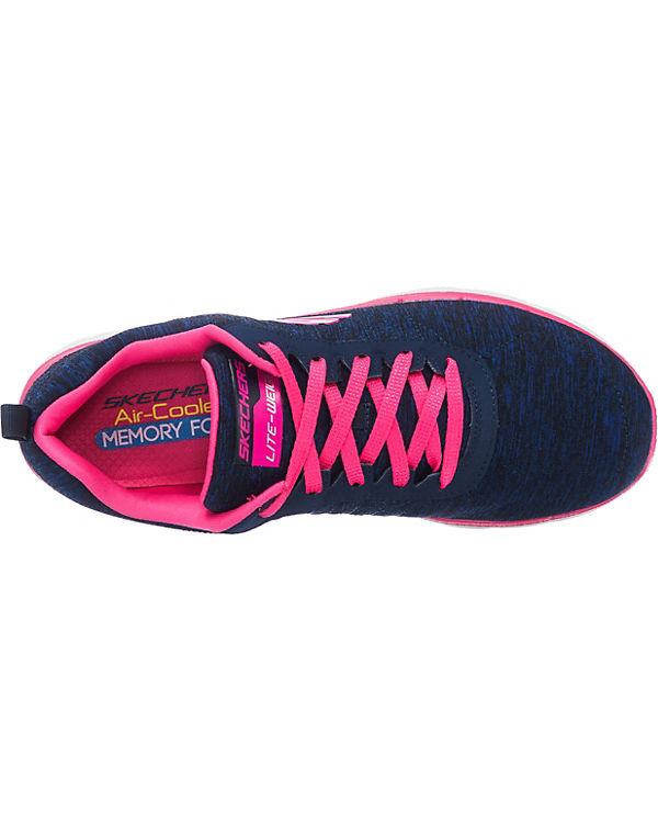 SKECHERS Flex Appeal 2.0 Sneakers Low blau-kombi