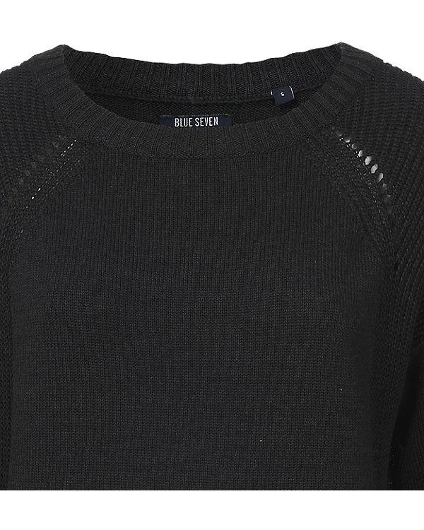 blue Pullover anthrazit