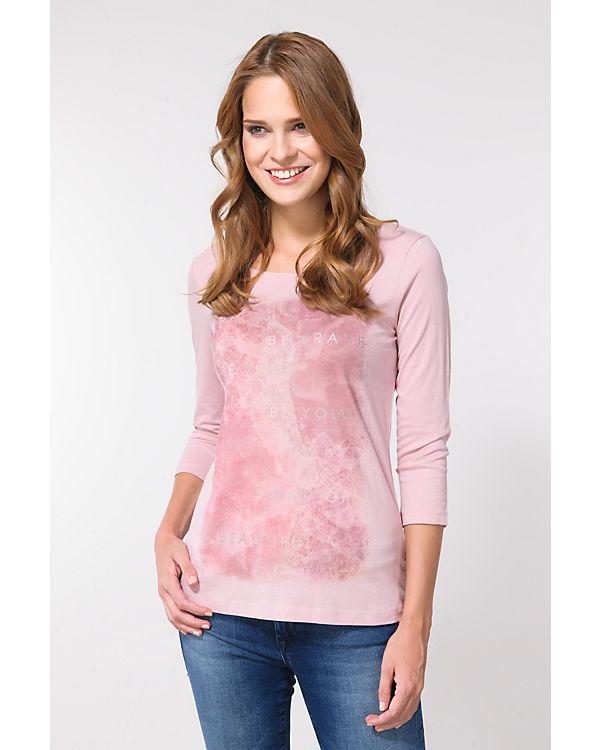TOM TAILOR 3/4-Arm-Shirt rosa
