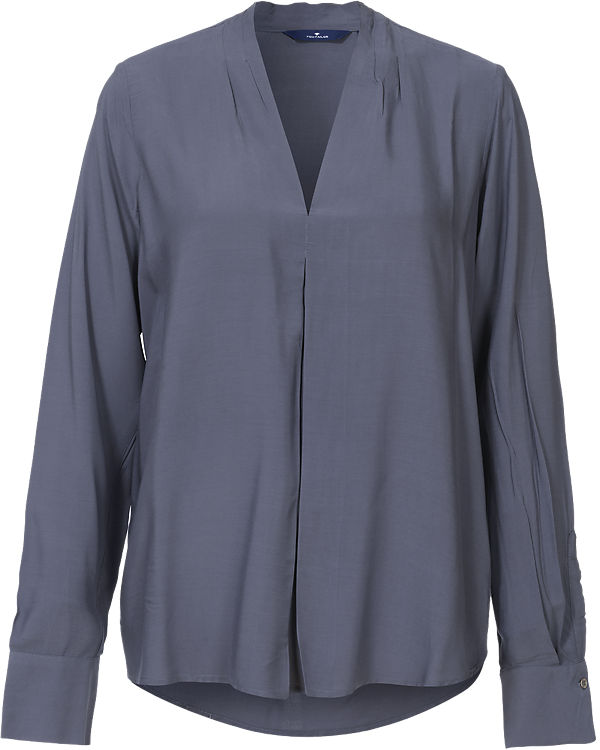 TOM TAILOR TAILOR Bluse Bluse TOM blau 00r71qw