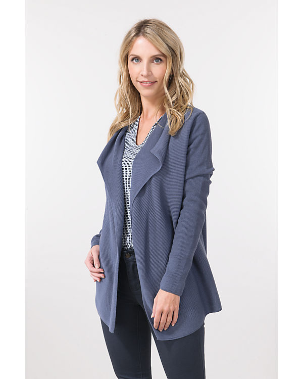 TOM TAILOR Strickjacke grau