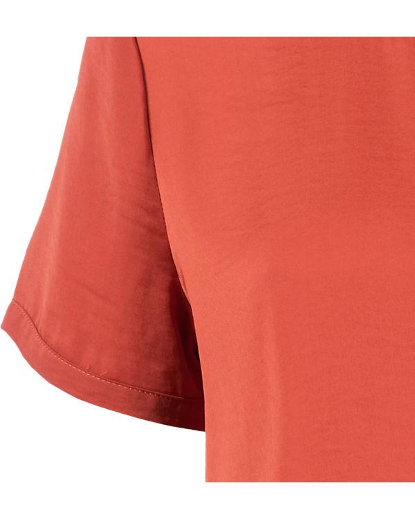 orange Blusenshirt VILA VILA Blusenshirt w7vO0