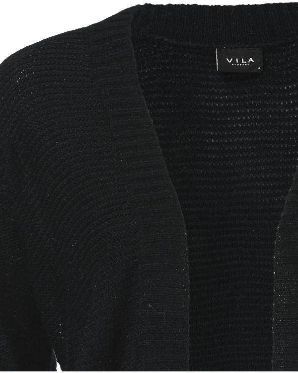 Strickjacke Strickjacke schwarz VILA Strickjacke schwarz VILA VILA VILA schwarz Strickjacke qTgCawE