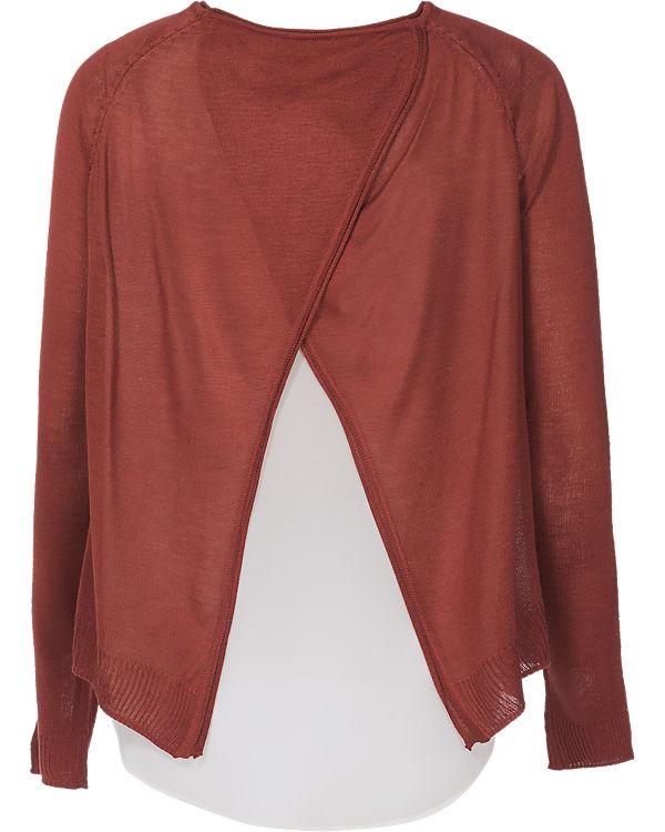 ONLY Pullover dunkelrot