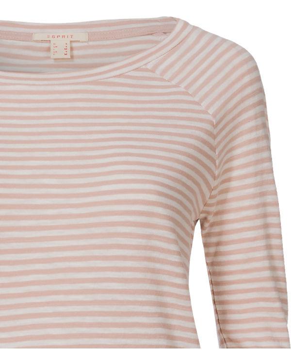 ESPRIT Langarmshirt rosa