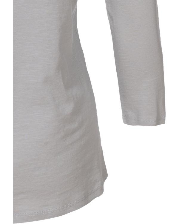 Shirt 3 ESPRIT 4 Arm hellgrau nqwUn1FY