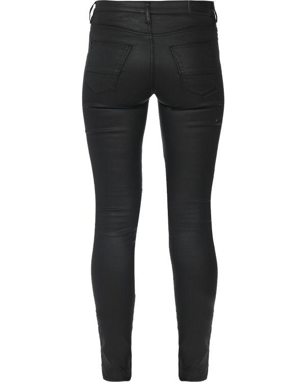 Medium Jeans ESPRIT schwarz Skinny Rise HqdEAwCR