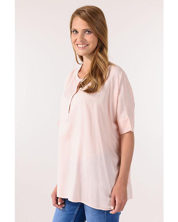 BASEFIELD Blusenshirt rosa
