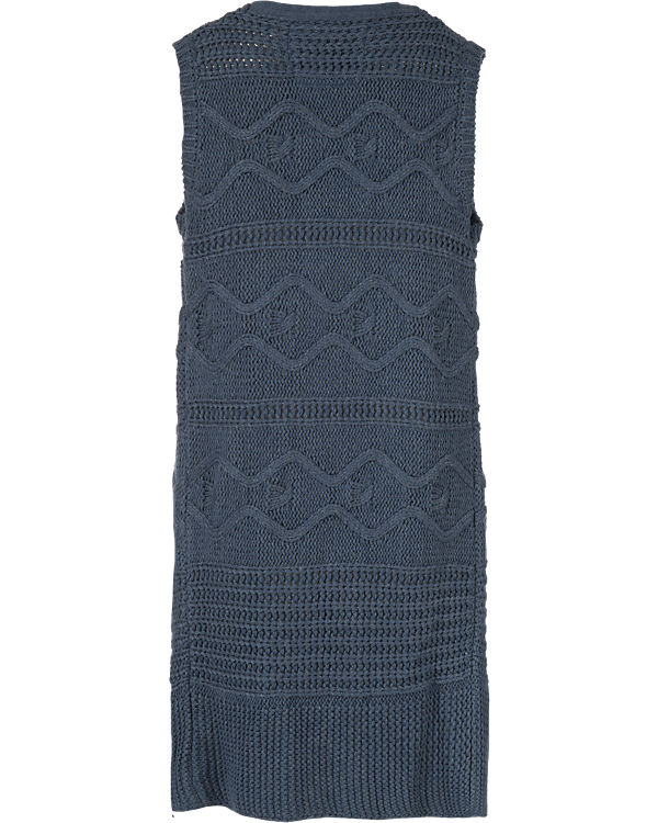 BASEFIELD Strickweste blau