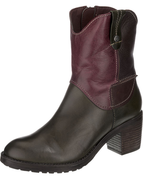 Be Natural Satex Stiefeletten weit