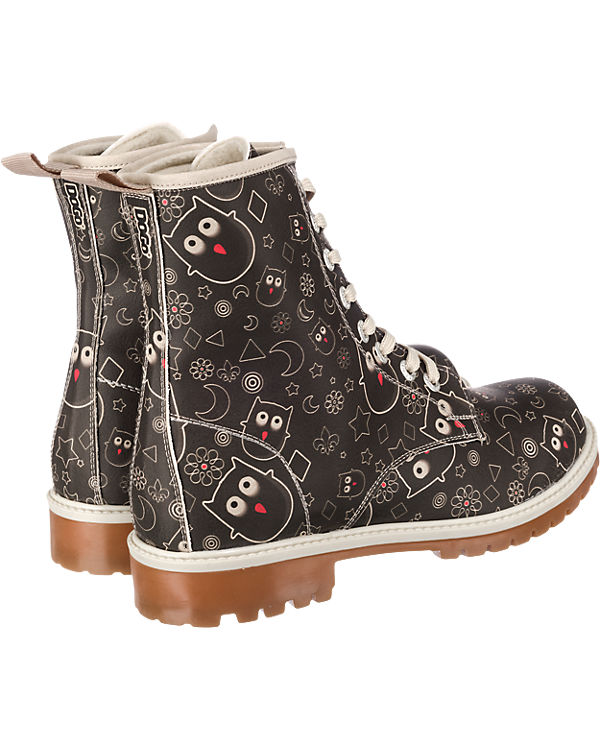 Dogo Shoes, Stiefel, Dogo Shoes Owl Lover Stiefel, Shoes, schwarz 3a6dfe