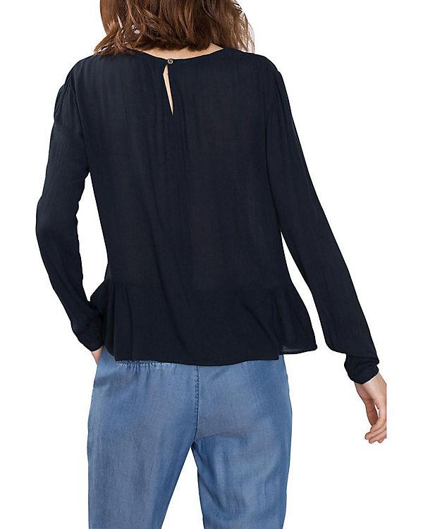 edc by ESPRIT edc ESPRIT Bluse by dunkelblau Bluse FzCqwFr