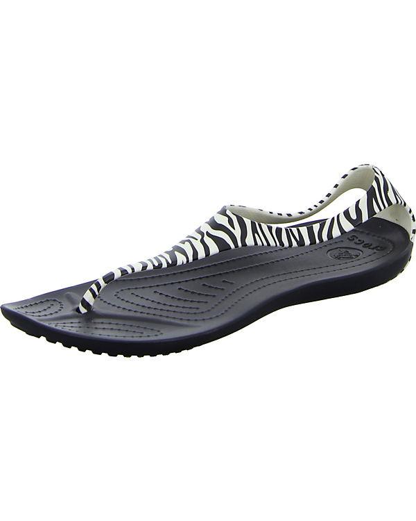 Zehentrenner crocs CROCS CROCS Zehentrenner crocs schwarz qEw744I8