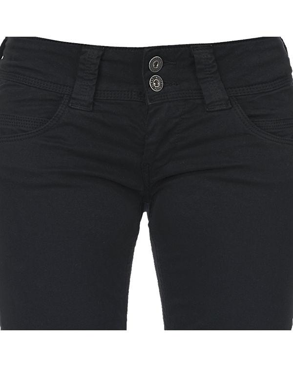 Pepe Jeans Hose Venus schwarz