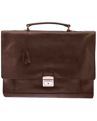 The Bridge Artisan Uomo Schultertasche Shopper Leder 40 cm
