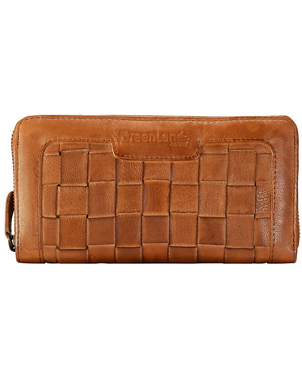 Greenland Femi & Nine Ladies Wallet Geldbörse Leder 20 cm