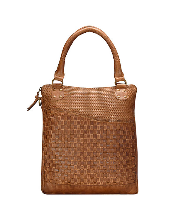 Greenland Femi & Nine Ladies Bag Handtasche Leder 32 cm