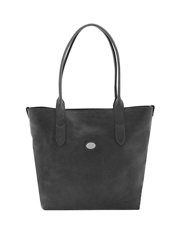 The Bridge Essentials Donna Shopper Tasche Leder 33 cm
