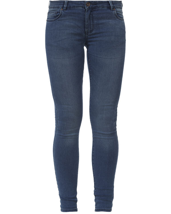 REVIEW Jeans Skinny blau