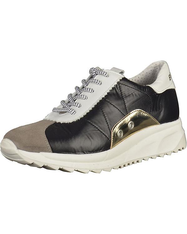 BRONX BRONX Sneakers schwarz/weiß
