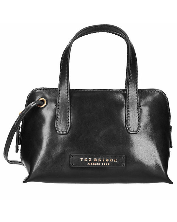 The Bridge Plume Luxe Donna Umhängetasche Tasche Leder 22,5 cm