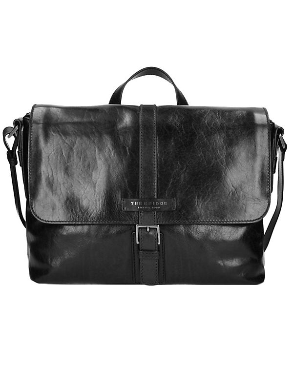 The Bridge Marcopolo Viaggio Messenger Tasche Leder 37 cm