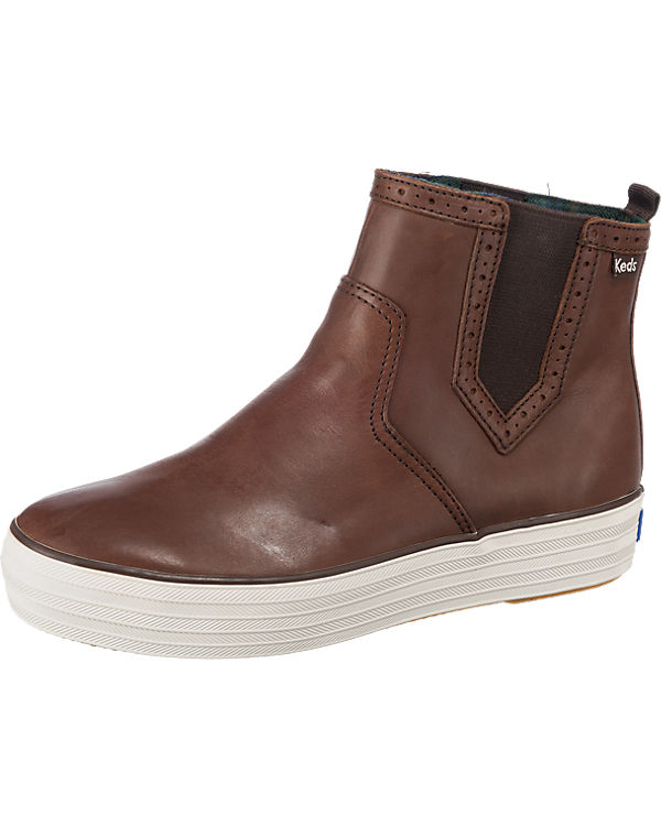 Keds TRIPLE CHELSEA PULL UP LEATHER Sneakers