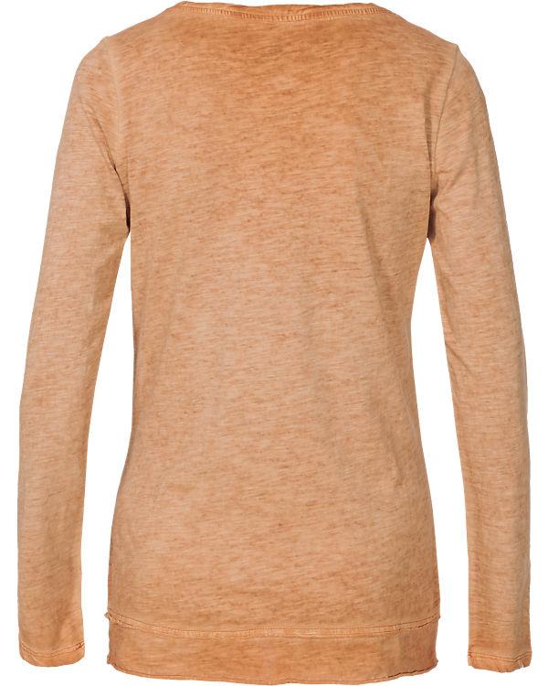 Q/S Langarmshirt orange